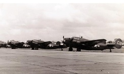 PV-2s of VPB-136 at NAS Whidbey Island, c.1945–46