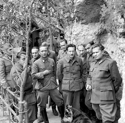 Tito and the Partisan Supreme Command, May 1944