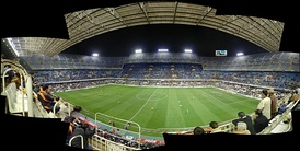 Panoramic of the Mestalla.