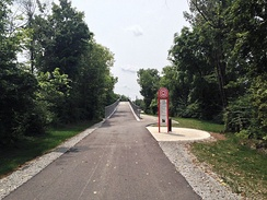 The Monon Greenway in Carmel