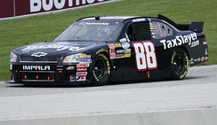 Almirola's No. 88 Nationwide car in 2011