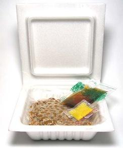 Упаковка натто с приправами