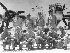 Crew #562 Albert L. Reynolds Crew 785th Bombardment Squadron, 1944