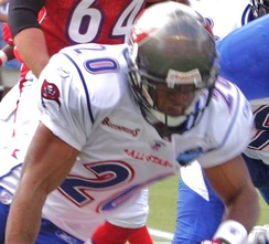 Barber (shown here in the 2006 Pro Bowl) is a five-time Pro Bowl pick.