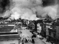 Fires of the 1906 San Francisco earthquake