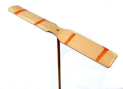 A decorated Japanese taketombo bamboo-copter