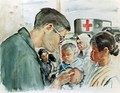 AMERICAN DOCTOR EXAMINES VIETNAMESE CHILD by Samuel E. Alexander, CAT IV, 1967