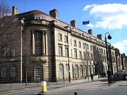 An English police station: Wood Street station in Wakefield