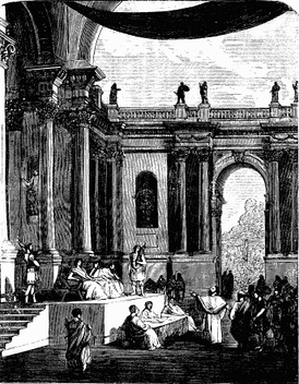 Roman Hall of Justice,Young Folks' History of Rome,1880