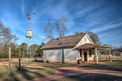 The Carter family store (part of Carter's Boyhood Farm) in Plains, Georgia