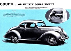 1937 Terraplane Utility Coupe, convertible to Pickup