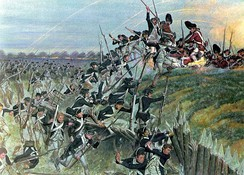 Storming of Redoubt#10 during the Siege of Yorktown.