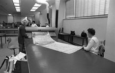 Copying technical drawings in 1973