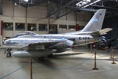 F-86F-30 of the Argentine Air Force, National Aeronautics Museum, Buenos Aires, Argentina