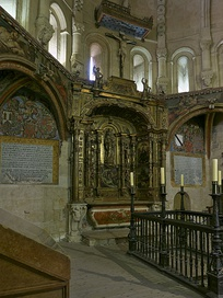 The Talavera Chapel in the Old Cathedral of Salamanca