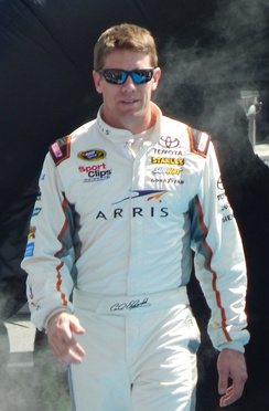 Carl Edwards finished third in the championship