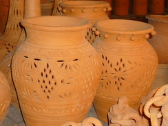 Pots in Punjab, Pakistan