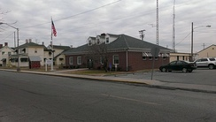 A view of Crisfield City Hall from Main Street.