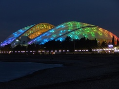 The Fisht Olympic Stadium hosted the 2018 FIFA World Cup games
