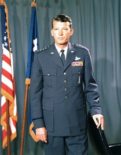 General Bernard Schriever, the founder of the Western Development Division and father of the military space program.