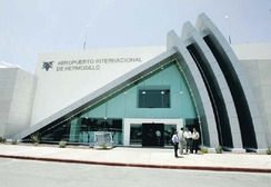 Entrance to the Hermosillo Airport