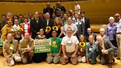Illinois delegation at the 2008 Green Party National Convention