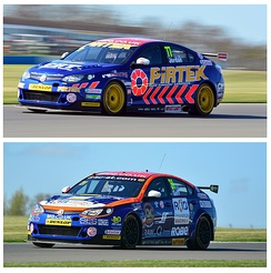 MG / Triple Eight British Touring Cars 2015