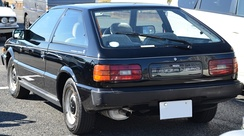Rear view of a Piazza Nero XJ (Japan)