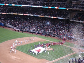 Japan winning the inaugural World Baseball Classic