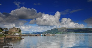 King John's Castle on Carlingford Lough.