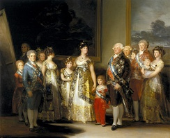 Francisco Goya, Charles IV of Spain and His Family, 1800–01