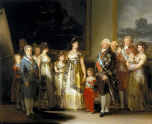 Charles IV of Spain and His Family, 1800[A]