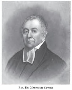 The Reverend Manasseh Cutler, American Revolutionary War chaplain who served in George Washington's Continental Army and was founder of Ohio University