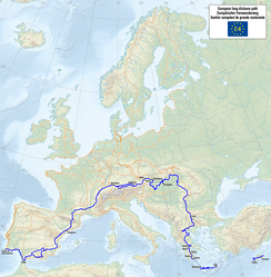 The European walking route E4