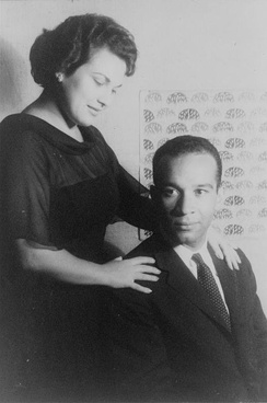 Marilyn Horne and Henry Lewis in 1961, photo by Carl Van Vechten