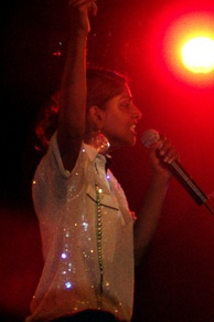 M.I.A. performing at the Prince in Melbourne in February 2006.