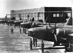 Wellingtons of the RNZAF in England, August 1939