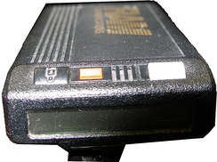 "The top of a Motorola ""Bravo"" numeric pager"