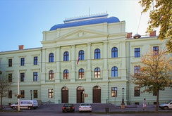 County courts are one of the types of regular courts in the Republic of Croatia. They are organized for the area of one or more counties. On the picture: County Court in Osijek