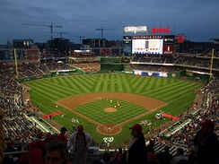 Nationals Park is the home of the Washington Nationals
