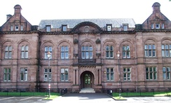 Paisley Grammar School, now a state comprehensive