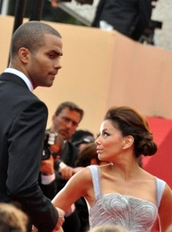 Parker and Longoria at the 2009 Cannes Film Festival
