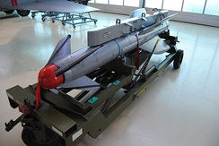 Penguin MK3 (missile) displayed in the Norwegian Armed Forces Aircraft Collection