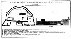 Plan of Arguim (1721).