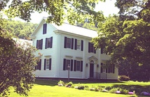 The Salmon P. Chase Birthplace in Cornish, New Hampshire