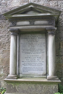 William Muir's grave, Dean Cemetery
