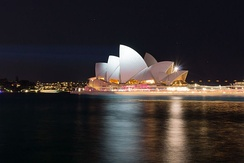 The Opera House seen from The Rocks