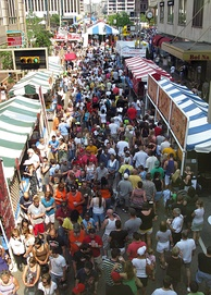 Approximately 1,000,000 attend Taste of Cincinnati yearly, making it one of the largest street festivals in the United States.[40]