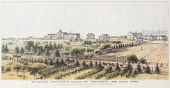 The Ontario Agricultural College and Experimental Farm, Guelph, Canada, 1889