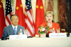 The first round of the U.S.–China Strategic and Economic Dialogue was held in Washington, D.C., from 27 to 28 July 2009